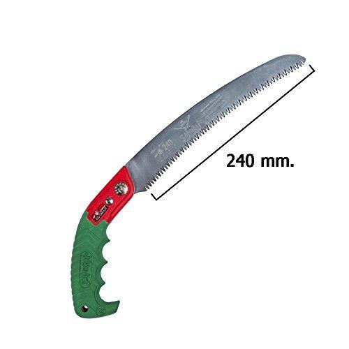 Kanzawa Samurai (Patent) Pruning Saw Ichiban 240mm GC-240-LH Swappable blade type (with sheath) Rough (Japan Import) by Kanzawa Seiko