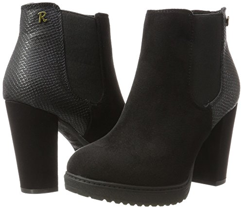 Chelsea 063714 Xti black Femme Boots Schwarz UqC15Cw