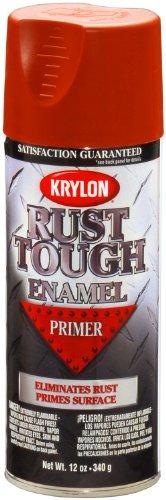 Krylon K09204007 'Rust Tough' Ruddy Brown Primer - 12 oz. -