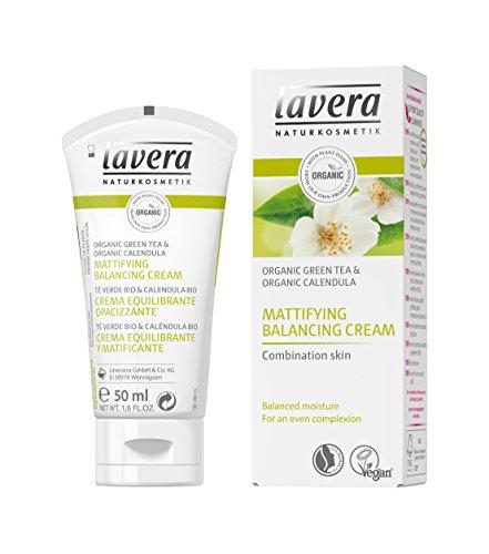 Lavera Mattifying & Balancing Facial Moisturizer, Organic Green tea - Intensive Moisture & Reduce Oiliness (50ml/1.6oz)