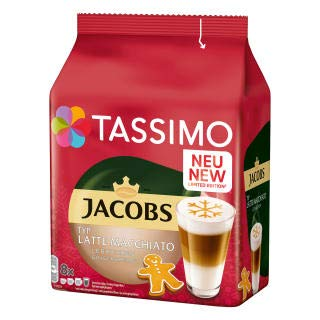 Tassimo Latte Macchiato GINGERBREAD -8 discs-Limited Edition For Sale