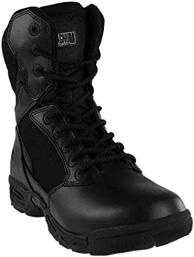 Magnum Women's Stealth Force 8.0 Side Zip Military and Tactical Boot, Black, 7.5 M US (Leather Boot Tactical Waterproof Professional)