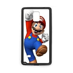 Super Mario Samsung Galaxy Note 4 Cell Phone Case Black yyfabd-293993
