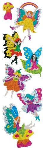 UPC 727846912372, Jillson Roberts Prismatic Stickers, Fairies, Bulk Continuous Roll (BS7315)