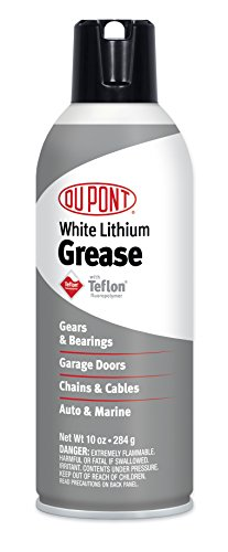 DuPont Teflon White Lithium Grease Aerosol Spray, 10 Oz.