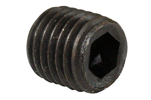 10x Madenschrauben ohne Kopf Gewindestifte M6x12mm