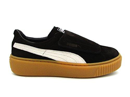 Strap Platform 03 Sneakers Nero Marrone 41 Nero Wn's Puma Grigio 365224 xwSqHA