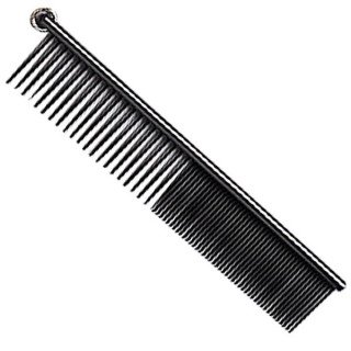 Prolux Anti Static Dog Grooming Combo Comb (Forge Dog Grooming)