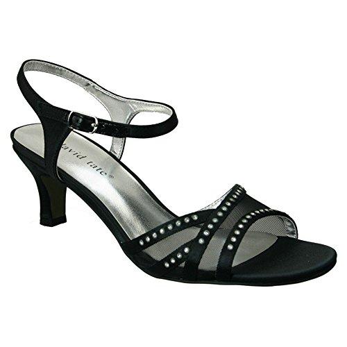 David Tate Women's Violet Black Sandal 6 M (B) from David Tate