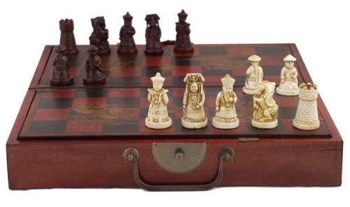 Collectible Chinese Antique Style Chess Game (Dynasty Chess Set)