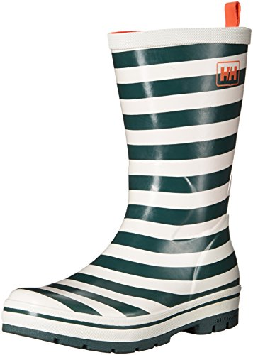 Helly Hansen Damen Midsund 2 Graphic Gummistiefel Weiß / Grau (Rock / Off Weiß / Brght Bloo)