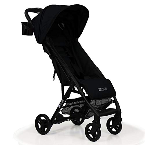 (ZOE XLC Best Lightweight Travel & Everyday Umbrella Stroller System (Black))