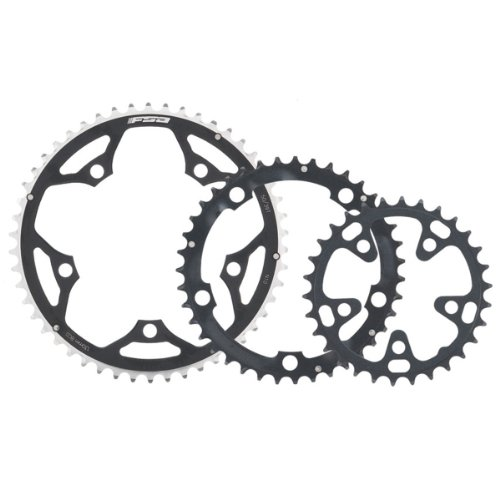 - FSA Pro Road 42 -Tooth/10-Speed Chainring (130mm, Black)