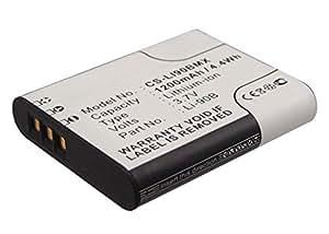 subtel® Batería premium para Olympus Stylus Tough TG-4 TG-1 TG-2 TG-3 TG-5 TG-Tracker, Stylus SH-1 SH-2 SH-50 SH-60, Stylus SP-100ee, Stylus XZ-2, Stylus Traveler SH-2 (1200mAh) Li-90B, Li-92B bateria de repuesto, pila reemplazo, sustitución