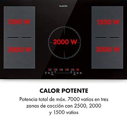Klarstein Delicatessa 90 Flex placa de inducción ...