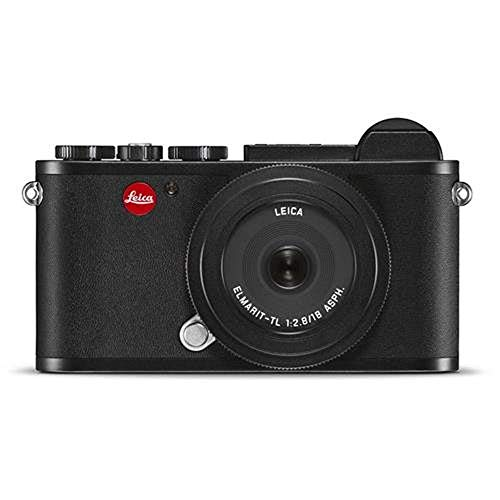Leica CL Mirrorless Black Camera Prime Kit with TL 18mm
