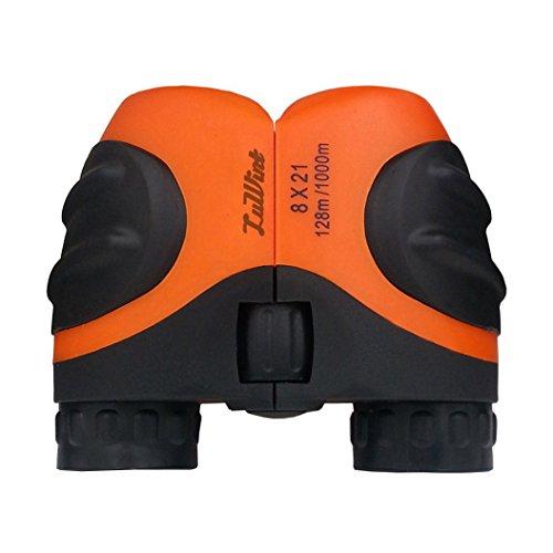 Luwint 8 X 21 Orange Kids Binoculars for Bird Watching, Watc