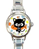 Chococat Custom Design Round Italian Charm Watch Limited Edition#2