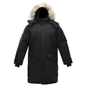 Triple F.A.T. Goose Eberly Long Down Jacket (XXX-Large, Black)