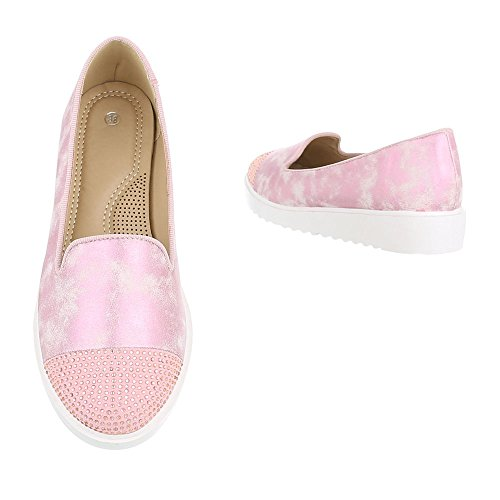Ital-Design Women's Low-Top Pink Rp2UgXjK