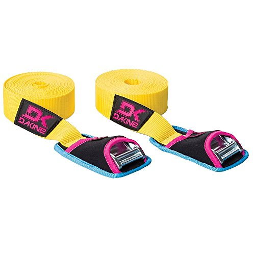 DAKINE Tie Down Straps 12ft - 2-Pack Yellow, One Size