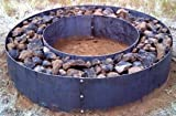 Steel Fire Pit Ring Metal Liner-Double Wall