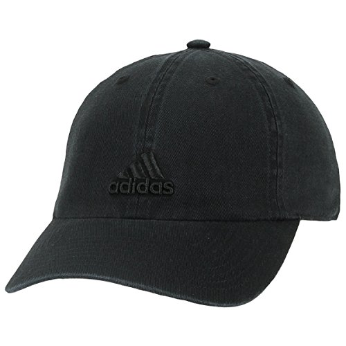 adidas Womens Saturday Relaxed Cap, Black/Black, One (All Baseball Hats)