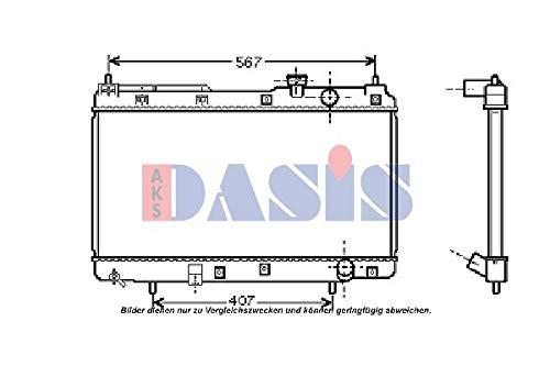 AKS Dasis 100036N Radiator engine cooling