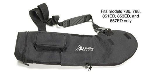 Alpen Optics Waterproof Nylon Padded Case for Alpen Optics 80mm Spotting Scopes
