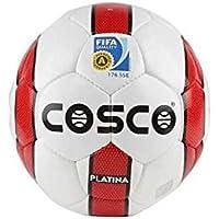 Cosco Permalast Football, Size 4 (White/Red/Black)