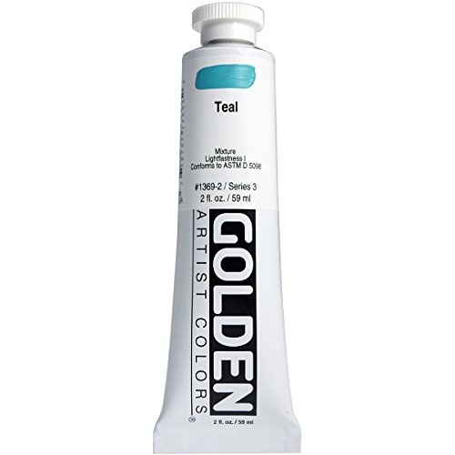 Golden Heavy Body Acrylic Paint 2oz-Teal