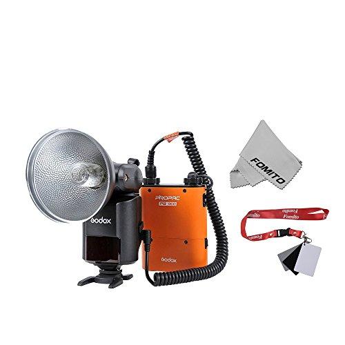 Fomito GODOX 大光量ポータブルフラッシュ AD360II-C WITSRO TTL Powerful & Portable Flash [CANON カメラ対応] オレンジの商品画像