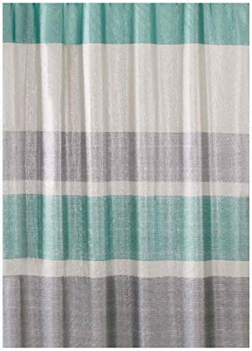 Better Homes and Gardens Glimmer Decorative Bathroom Collection - Fabric Shower Curtain & Hooks Set from Better Homes & Gardens