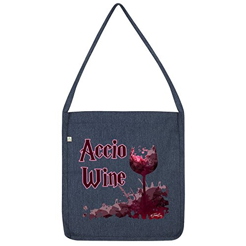 Wine Bag Accio Twisted Envy Navy Tote TwOa6qaE