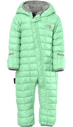 3901b1f9b THE NORTH FACE Bunting baby infant thermoball snowsuit SURF GREEN ...