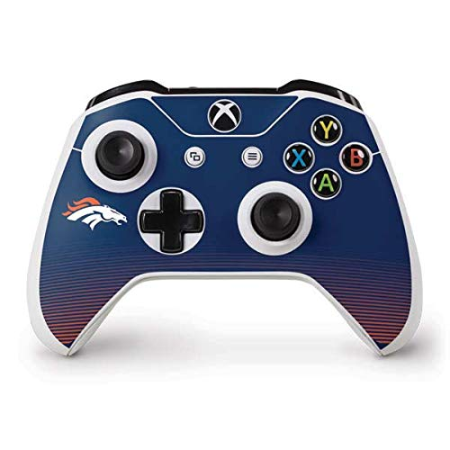Skinit Denver Broncos Breakaway Xbox One S Controller Skin - Officially Licensed NFL Gaming Decal - Ultra Thin, Lightweight Vinyl Decal Protection