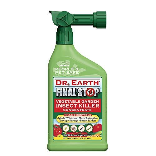 Dr. Earth Final Stop Vegetable Garden Insect Killer, 32 oz.