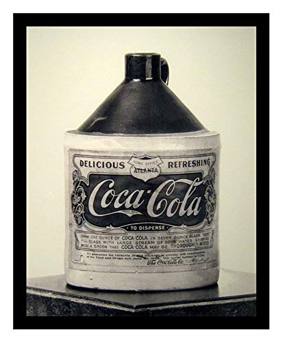 (Iron Ons 8 x 10 Photo Coca Cola Syrup_Container_1906 Vintage Old Advertising Campaign Ads)