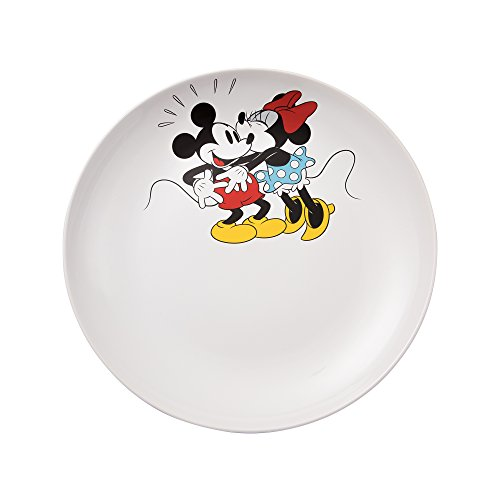 Vandor Disney Mickey and Minnie Mouse 14-Inch Ceramic Serving Platter (89336) ()