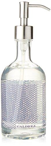 (Caldrea Glass Refillable Hand Soap, Lavender Pine, 12 Ounce)