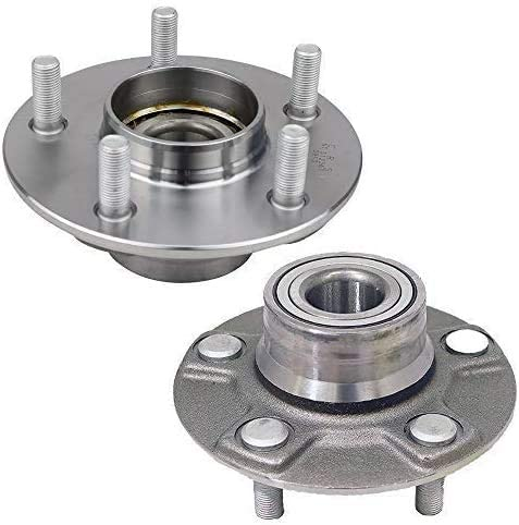 NYC Autoparts - Pair Rear Wheel Bearing and Hub Assembly for 1996-1999 Infinti I30, for 1995-1999 Nissan Maxima 4-Wheel ABS Models