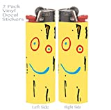 Plank 2 PACK Vinyl Decal Wrap Skin Stickers for Bic Lighters by EandM