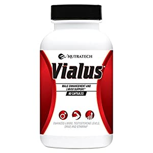 Vialus -Male Testosterone Booster to Improve Size, Energy, and Stamina with a Fast Acting Formula, Safe Alternative to Prescriptions natural male enhancing pills increase size - 41 2Bfn m1MmL - natural male enhancing pills increase size