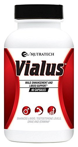 Vialus -Male Testosterone and Performance Booster to Improve Size, Stamina, Energy. Fast Acting Enhancement Formula with Horny Goat Weed, Saw Palmetto, and More. Alternative to Prescription ()