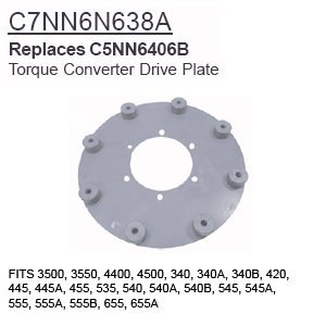 amazon c7nn6n638a ford tractor parts torque converter drive 2003 Ford Escape Torque Converter c7nn6n638a ford tractor parts torque converter drive plate 3500 3550 4400 450
