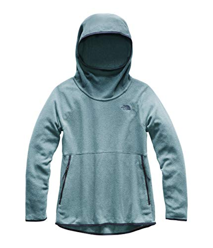 The North Face Women's Glacier Alpine Pullover Storm Blue Heather Medium ()