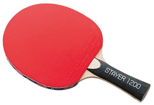Butterfly Stayer 1200 Shakehand FL Table Tennis Racket with Rubber by Butterfly