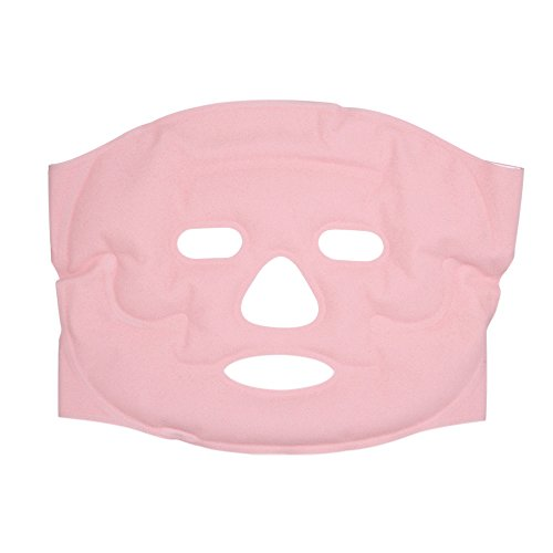 Anself Face Gel Mask Hot & Cold Facial Therapy Mask Microwavable Freezable Reusable Relief Swollen Face Puffy Eyes Headaches Migraines