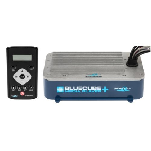 (Aquatic AV Bluecube+ Hide-Away Marine Stereo AQ-BC-5UBT)