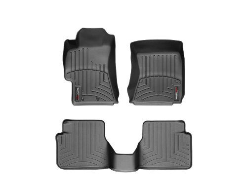 2008 2011 Subaru Impreza Weathertech Floor Liners Full Set Includes 1st And 2nd Row Black
